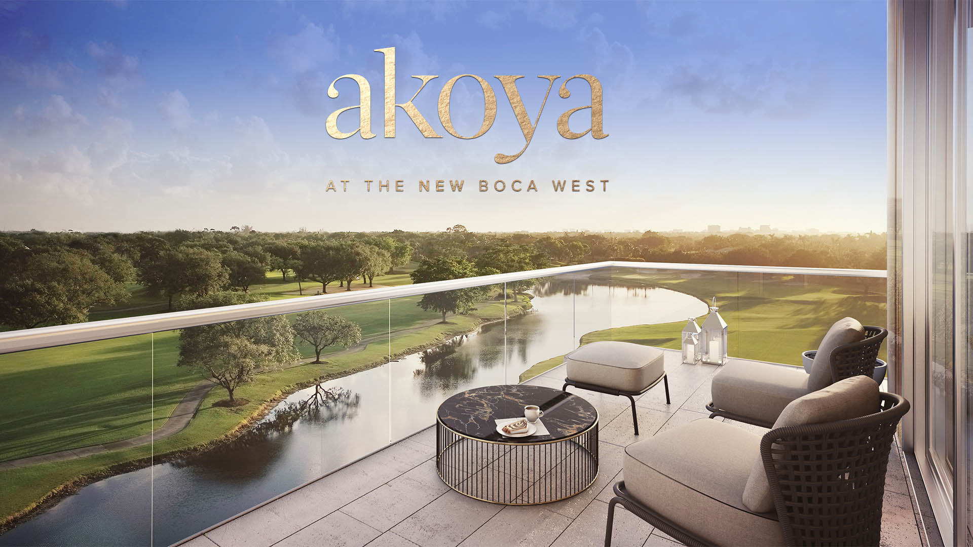 Akoya Boca West Balcony