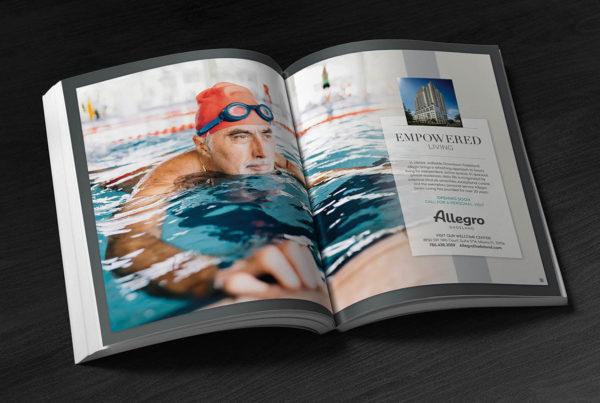 Allegro Magazine Spread Ad