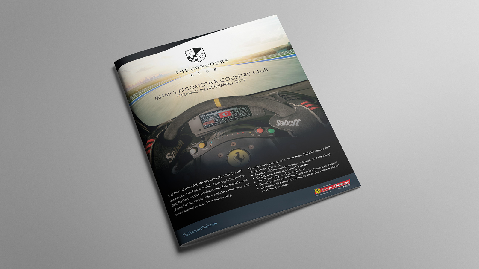 The Concours Club Ad