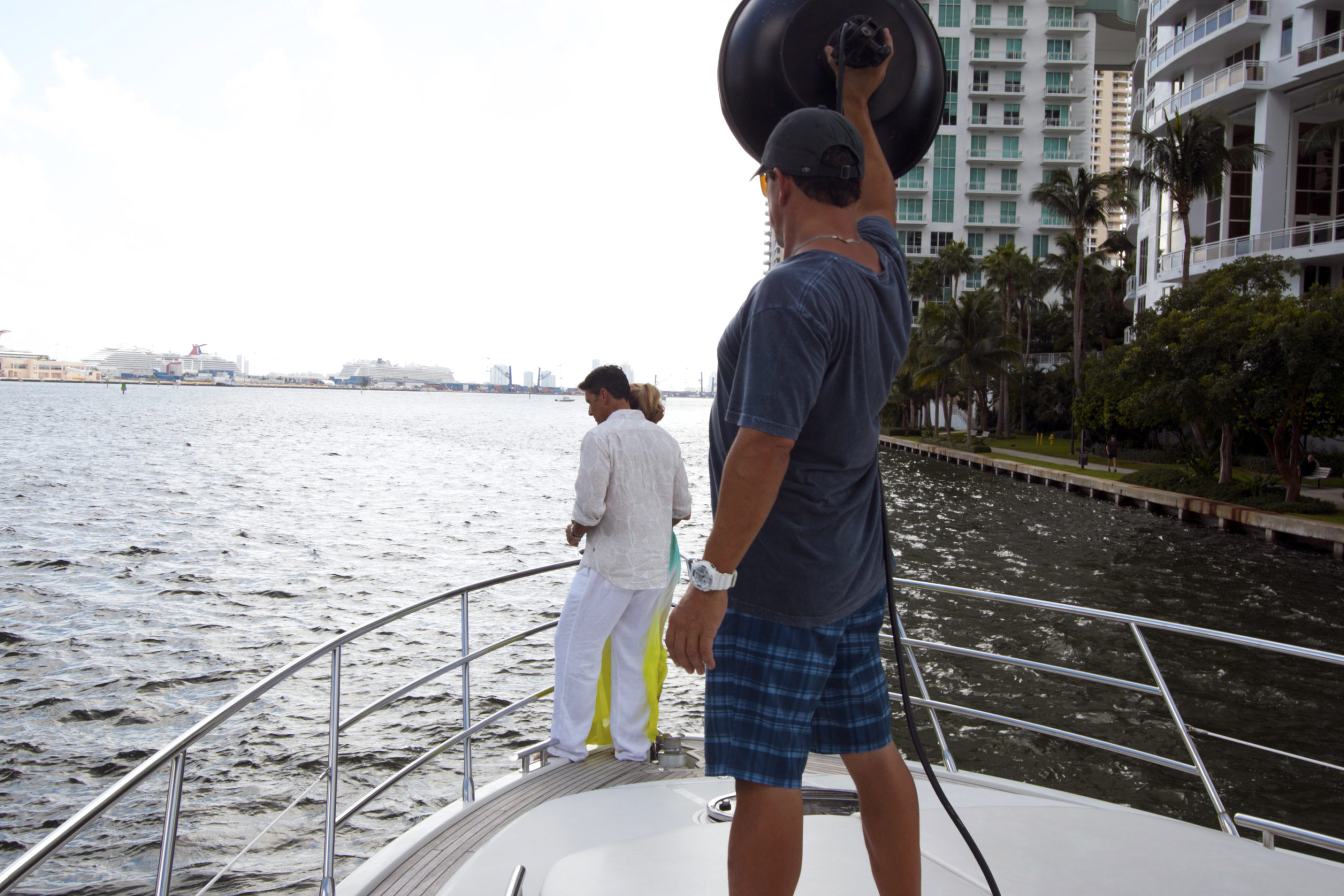 Capturing a Day of Luxury on the Water